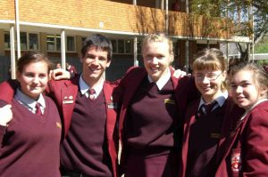 Südafrika High School mit dem FSA